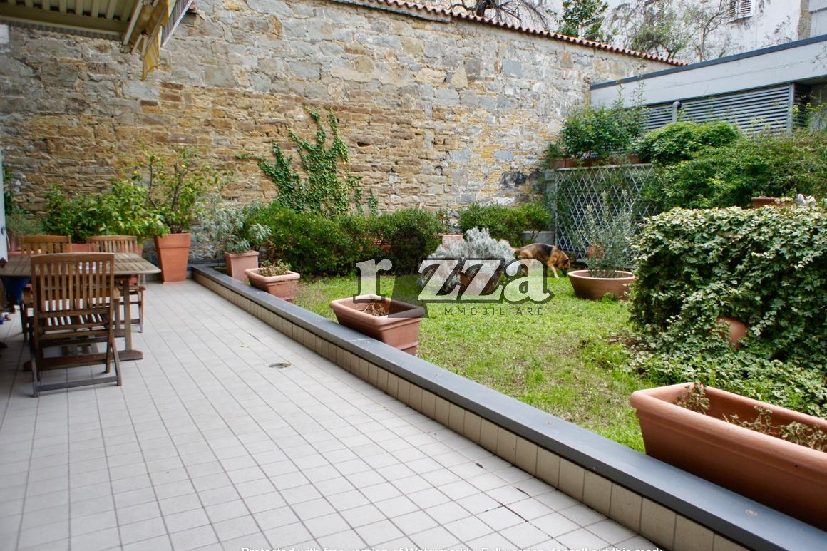 Casette Con Giardino Trieste.0475 Via Crispi Con Giardino Rizza Immobiliare Agenzia